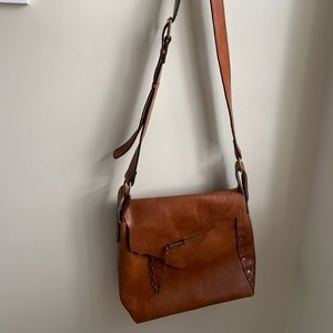 Brown Leather Patricia Nash Purse